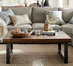 pottery barn griffin reclaimed wood coffee table reclaimed pine pottery barn