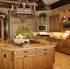 beautiful kitchen color schemes light wood cabinets white granite