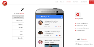framework design create amazing material design apps with ionicmaterial