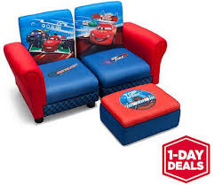 walmart one day deal disney cars sofa and ottoman set only