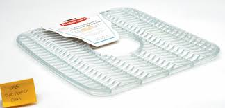 Rubbermaid Sink Mats Large by Rubbermaid Clear Sink Protector Rubbermaid Rmd Fg129506clr