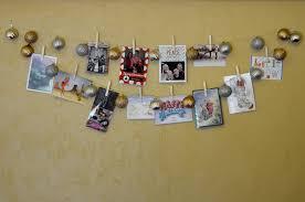 christmas card holder how to diy easy inexpensive christmas card holder