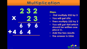 Multiplication By Two Digits Worksheets Multiplication With Two Digits Math Lesson For 4th U0026 5th Grade