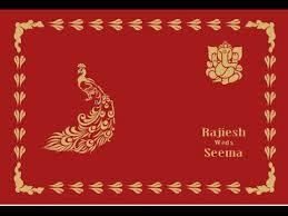 Wedding Card Matter In Hindi How To Make Wedding Card Corel Draw X7 In Hindi क रल ड र