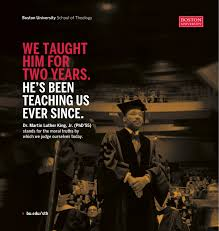 martin luther king dissertation dr martin luther king jr school of theology boston university sth usatoday mlk ad copy