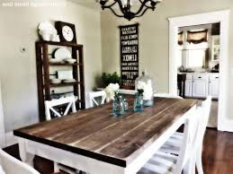 rustic farm style kitchen table square baluster table in