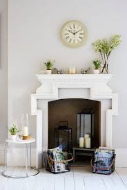 creative ways to decorate a non working fireplace apt