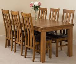 rustic oak dining table french chateau oak dining set 180cm 6 princeton chairs