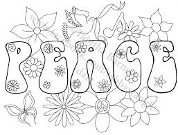 peace on earth coloring page by tabbystangledart on etsy