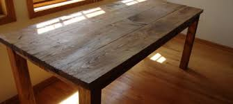 distressed kitchen table distressed wood dining table set on