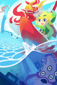 Wind Waker Map The Wind Waker U2013 Digital Fantasy Travel Diary