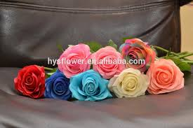 Flower Decoration For Bedroom Single Real Touch Mini Rose Flower Wedding Stage Bedroom Table