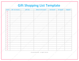 christmas gift shopping list christmas card list in excel inspiring quotes and words in