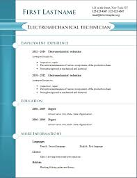 free download resume templates resume format free download resume