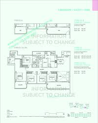 Foresta Floor Plan Rivercove Residences Anchorvale Lane Ec By Hoi Hup Realty