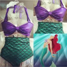 Ariel Halloween Costume Women Halloween Women Mermaid Tail Costume Princess Ariel Swimming