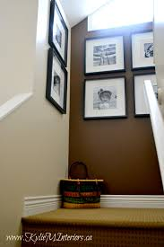 Stairwell Ideas Stairwell Photo Gallery Or Art Wall Ideas With Chocolate Brown