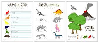 dinosaur activity pack printable makeovers motherhood