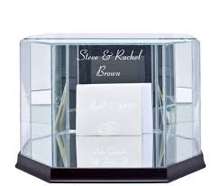 wedding gift box gift card box octagon large