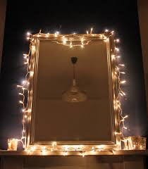 Frame Around Bathroom Mirror by Bathroom Mirror With Gold Wooden Frame Using Light Decoration As