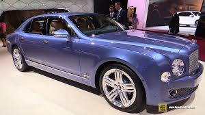 bentley mulsanne 2015 2015 bentley mulsanne exterior and interior walkaround 2014