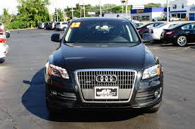 audi q5 2007 2012 audi q5 quattro turbo black navigation suv sale