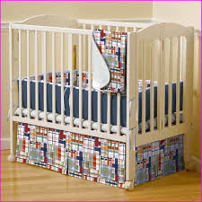 Mini Crib Sets Mini Crib Bedding For The Smaller Crib