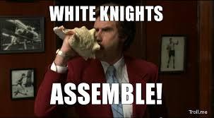 White Knight Meme - wykked the black desert online