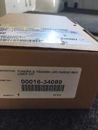 sparks parts 00016 34089 led cargo bed lighting led cargo lights installed tundratalk net toyota tundra