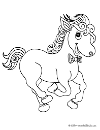 horse coloring pages u2013 cute little horse small horse coloring page