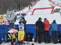 killington world cup mikaela shiffrin in the hunt in slalom