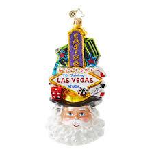 christopher radko ornaments radko destinations viva las vegas