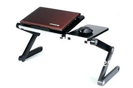 Laptop Desk With Led Light Foldable Desk Compact Bamboo Laptop Stand Breakfast In Bed