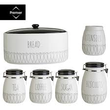 morphy richards tea coffee sugar biscuit cake kitchen storage tins home decor large size kitchen canisters and jars ebay heartlines tea coffee sugar canister bread