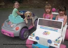 jeep barbie the turner triplets barbie jeep barbie bug and a trackhoe