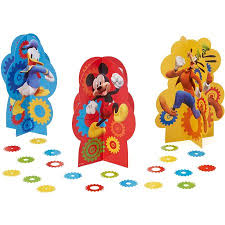 mickey mouse clubhouse table decorations party supplies walmart com
