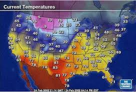 weather usa map question