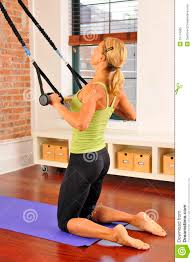 Bar At Home Pilates Stretch With Bar At Home Royalty Free Stock Photo Image