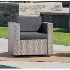 Outdoor Wicker Swivel Chair Swivel Outdoor Club Chairs You U0027ll Love Wayfair