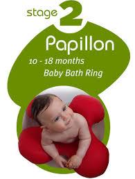 bathtub rings for infants papillon baby bath ring 10 18 months babyanywhere
