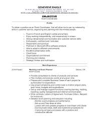 Sample Event Planner Resume Objective by Event Plan Template Planner Resume Free Templates Planning