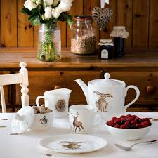 wrendale by royal worcester hare teapot amazon co uk kitchen u0026 home
