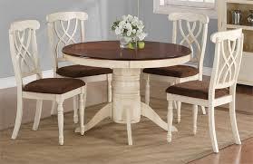 White Round Kitchen Table Redtinku - Large round kitchen table