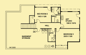 ranch floorplans ranch house plans for a passive solar 1 bedroom home