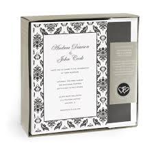 Black And White Wedding Invitations Amazon Com Hortense B Hewitt Wedding Accessories Print Yourself