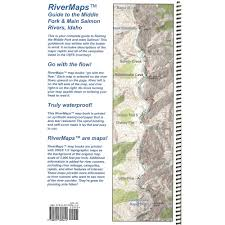 How To Read Topographic Maps Rivermaps Middle Fork U0026 Main Salmon River 3rd Edition Guide Book