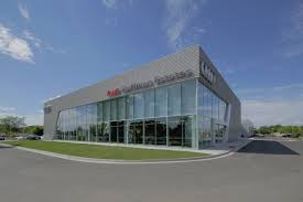 chicago u0027s audi dealership showcases tubelite u0027s curtainwall