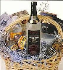 vodka gift baskets vodka gift basket send liquor