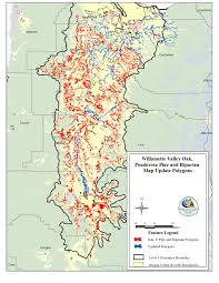 Hood River Oregon Map by Northwest Habitat Institute
