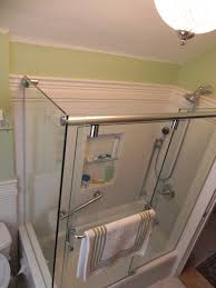 glass doors for tubs glass shower enclosures u2014 bathroom renovations